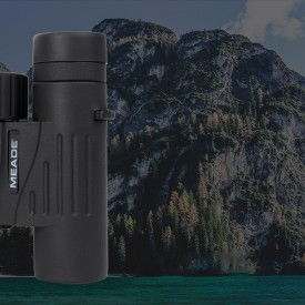 MEADE 10x25 고품질 쌍안경 TRAVELVIEW 10x25